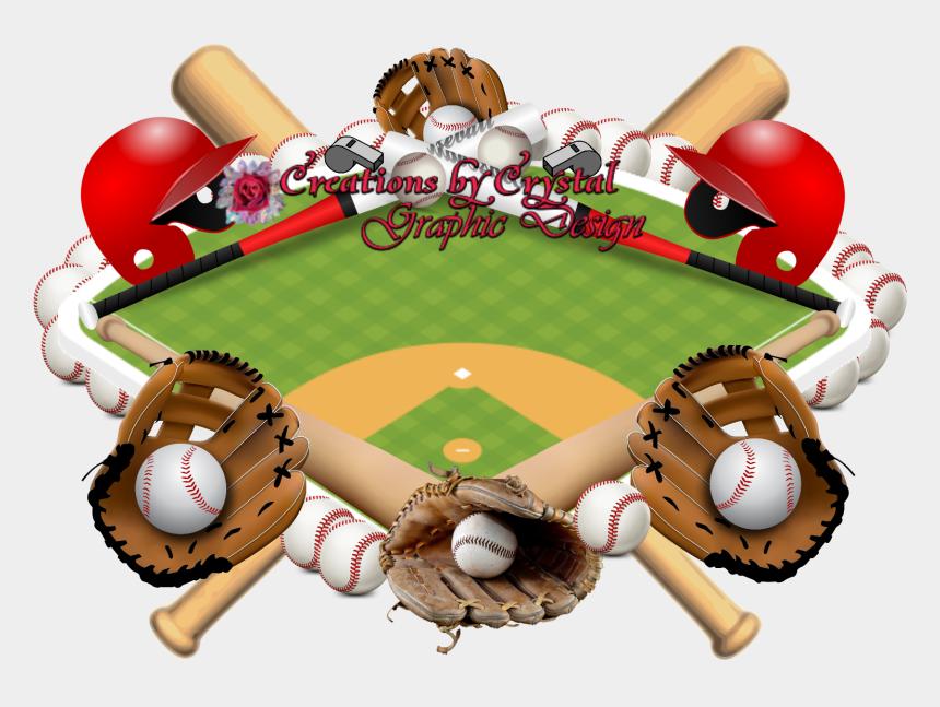 baseball border clipart images, Cartoons - Sports Borders Design