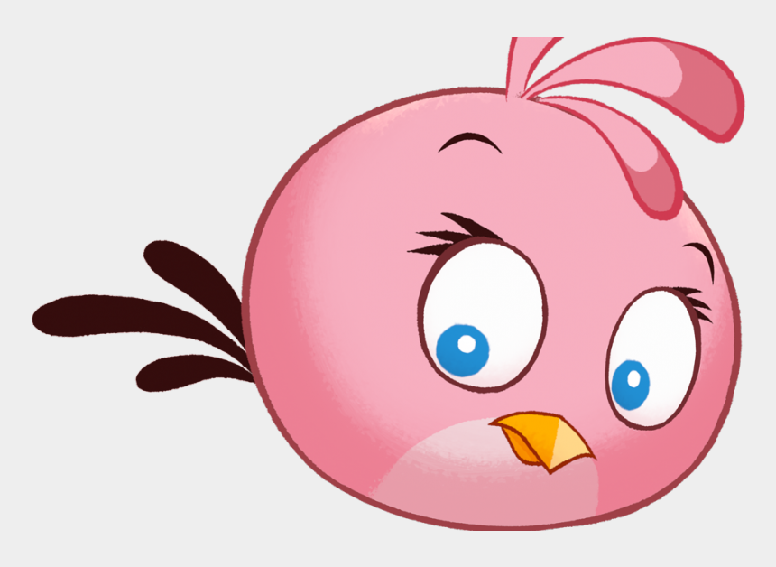 angry animal eyes clipart, Cartoons - Angry Birds Stella