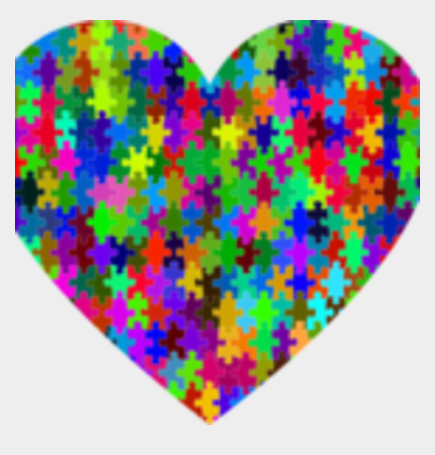 feeling under the weather clipart, Cartoons - Rainbow Heart Puzzle