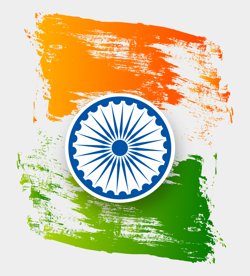 indian independence day clipart, Cartoons - Independence Day India Flag