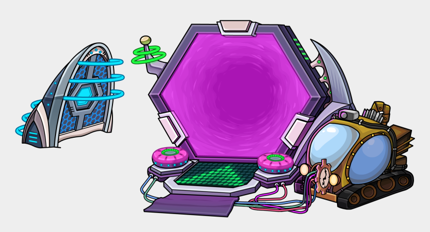 time travel portal clipart, Cartoons - Club Penguin Is Back
