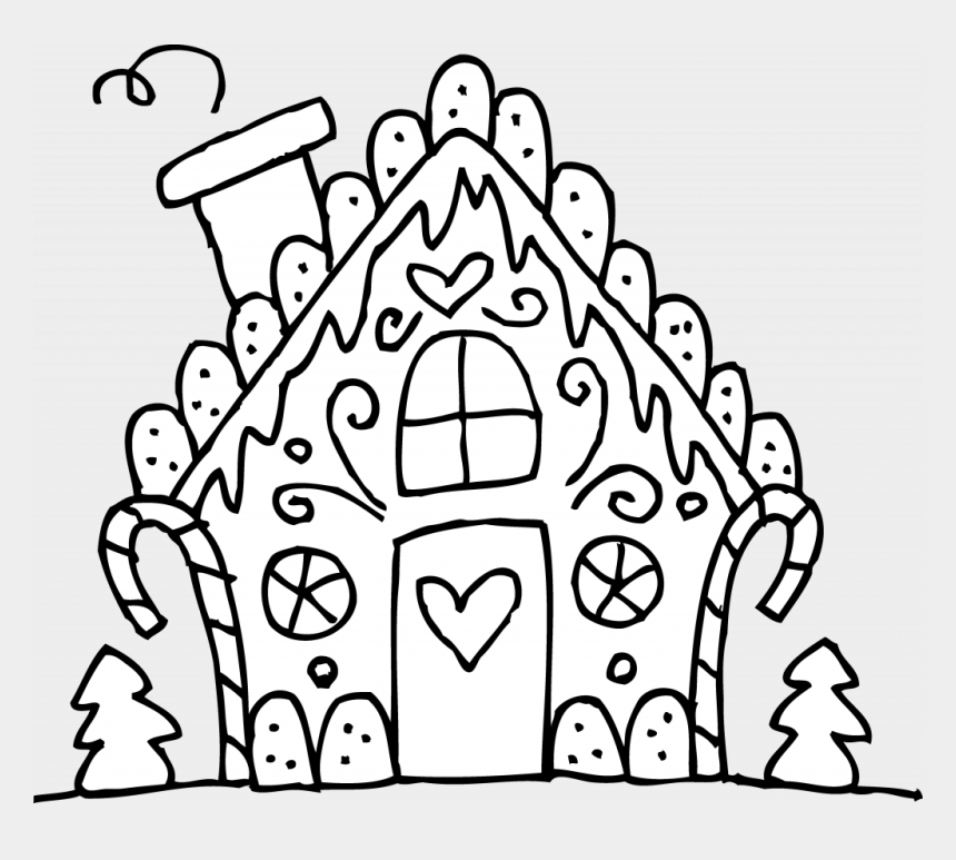whoville sign clipart, Cartoons - Christmas Coloring Pages Printable Gingerbread House