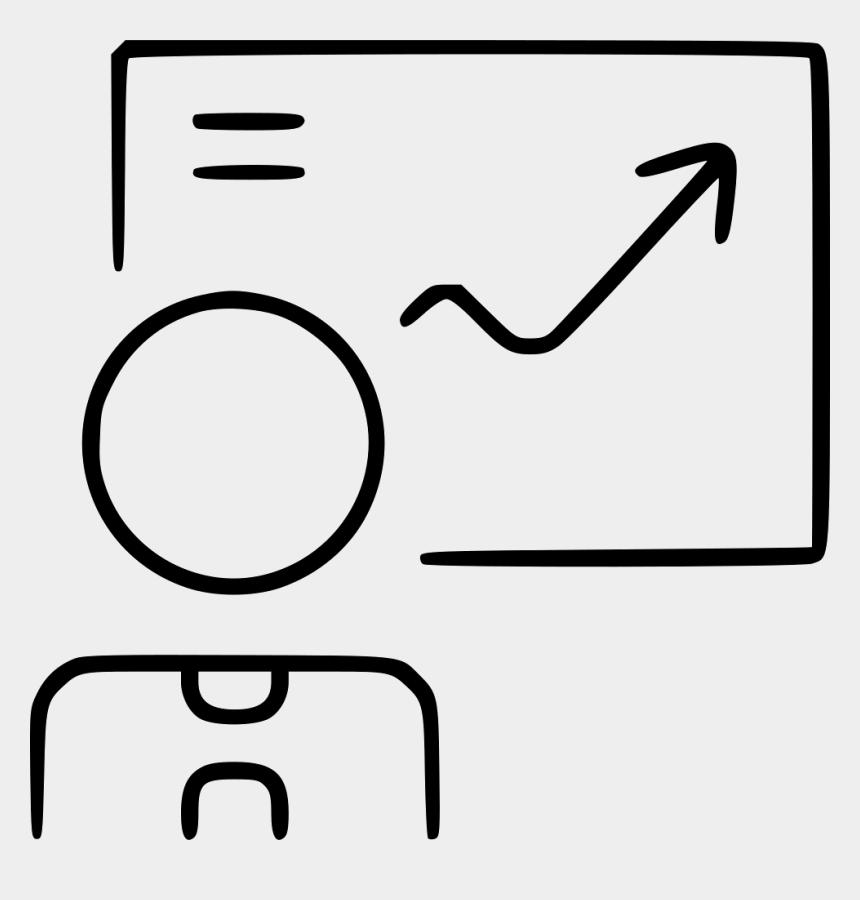 presentation clipart icons, Cartoons - Businessman Infographic Success Arrow Improvement Plan - Transparent Improvement Icon Free