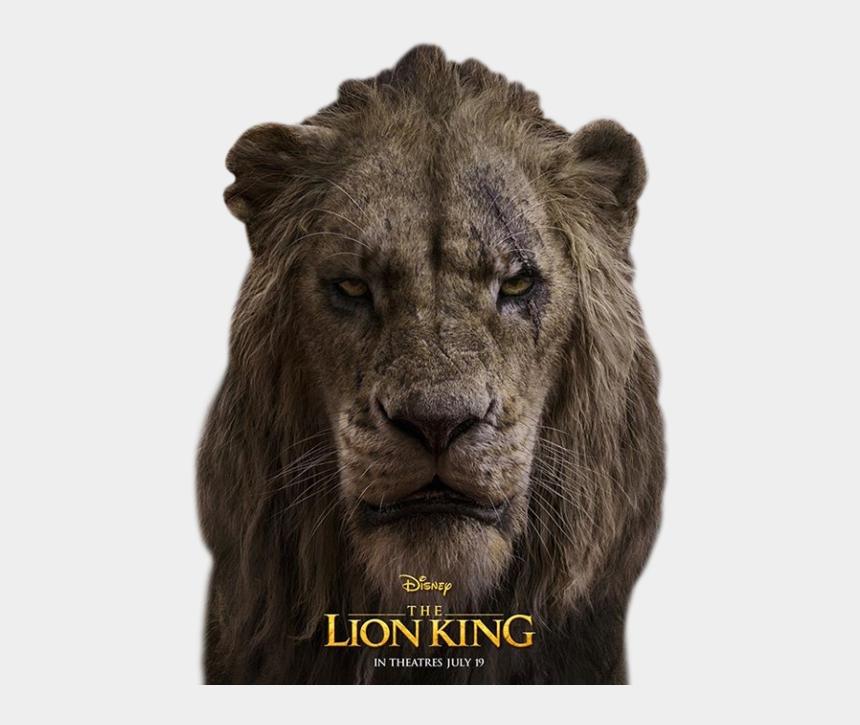 predator animal clipart, Cartoons - Scar Lion King 2019