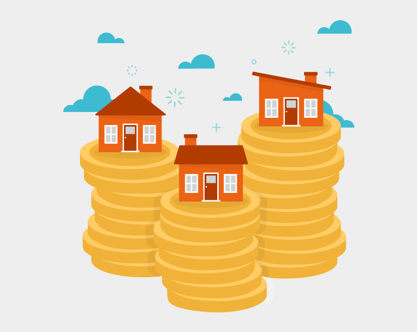 investment property clipart, Cartoons - Property Investment Png
