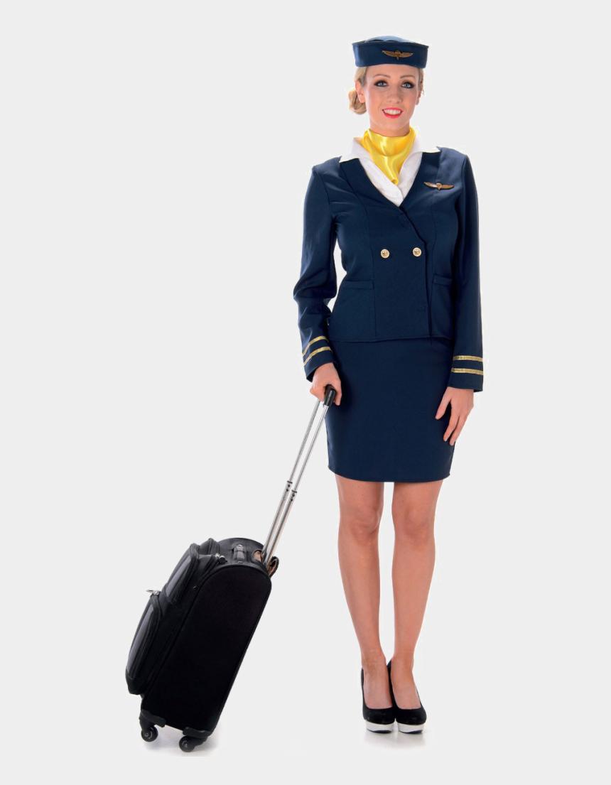 flight attendant clipart png, Cartoons - Female Flight Attendant Uniform
