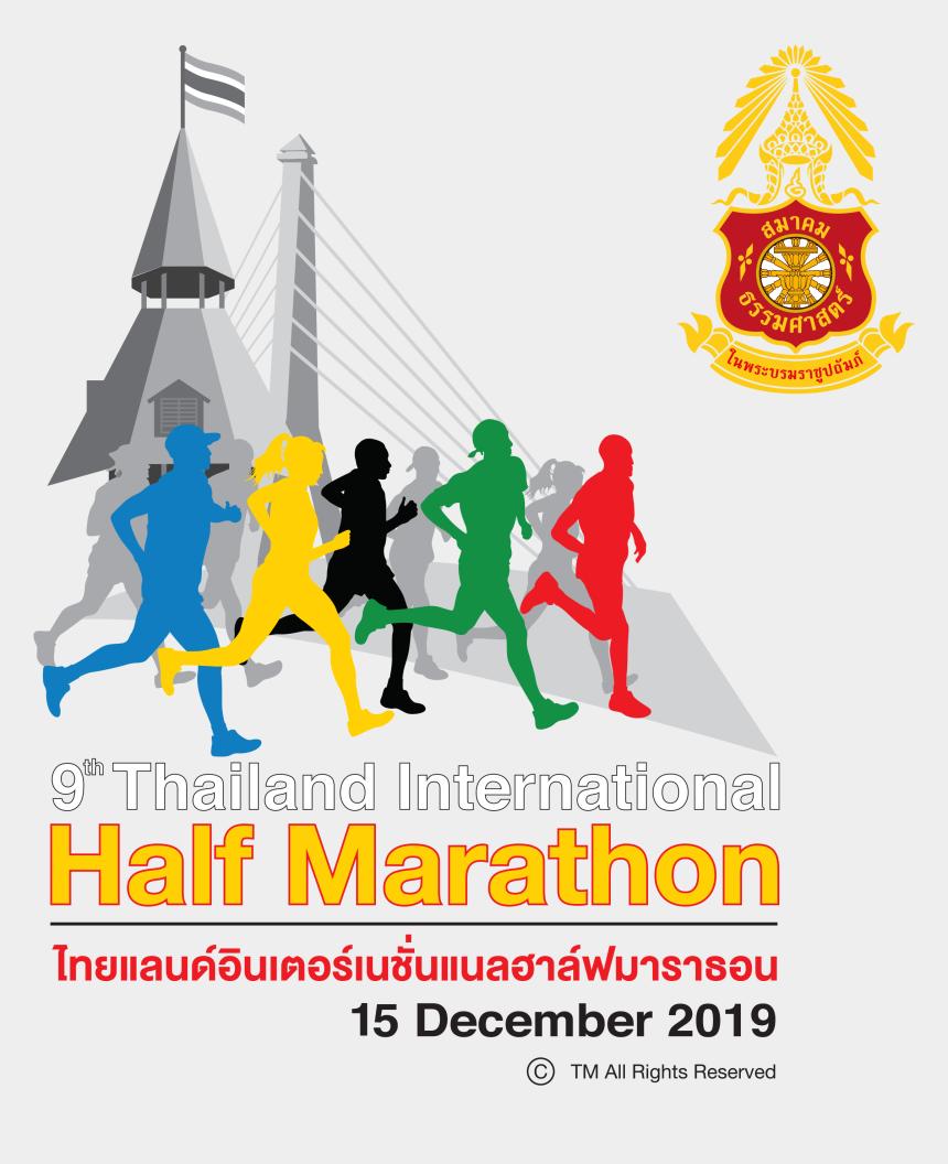 december calendar header clipart, Cartoons - Thailand Half Marathon 2019