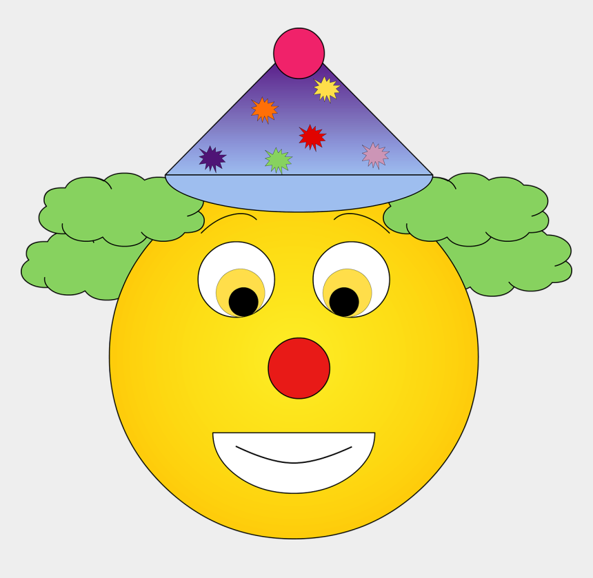 clown smiley face clipart, Cartoons - Smile Palhaço