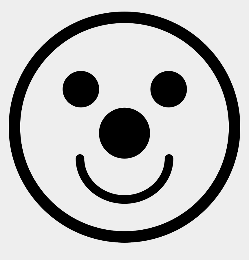 clown smiley face clipart, Cartoons - Smiley