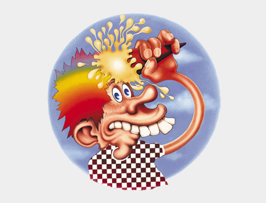 steal your face logo clipart, Cartoons - Grateful Dead Europe 72 Cover