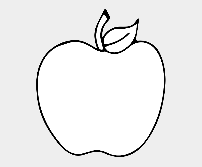 apple clipart black white, Cartoons - Fruit Icon White Png
