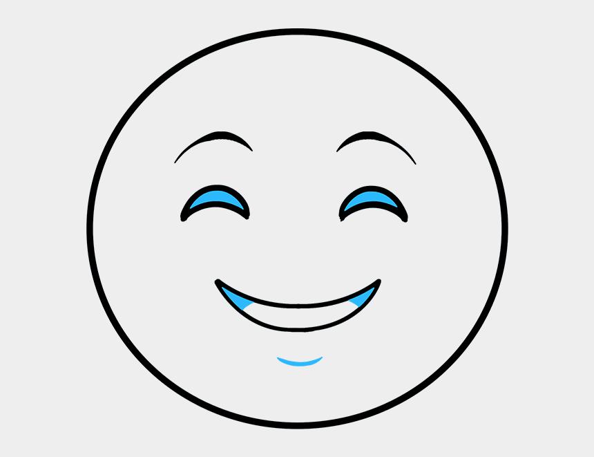 simple clown face clipart, Cartoons - Smiley