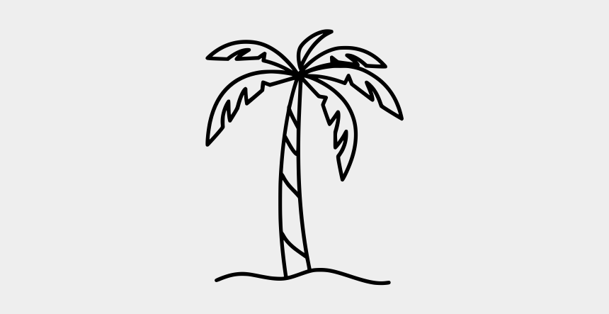 rubber plant black and white clipart, Cartoons - Clipart Drawings Palm Tree