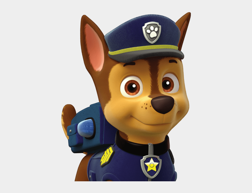 chase paw patrol clipart black and white, Cartoons - Chase Paw Patrol Png