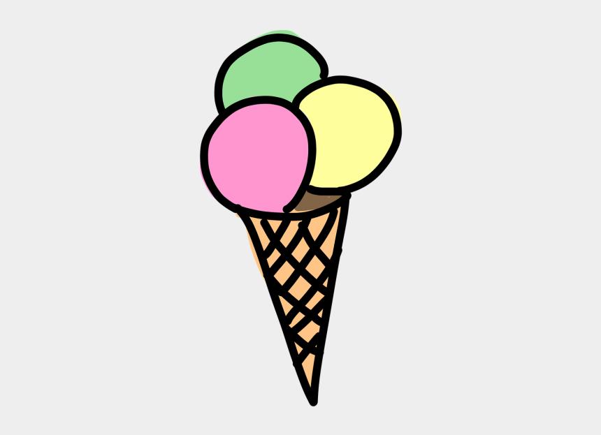 child eating ice cream clipart, Cartoons - Dondurma Çizimi