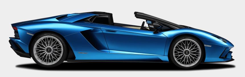 lamborghini clip art free, Cartoons - Lamborghini Aventador S Side View