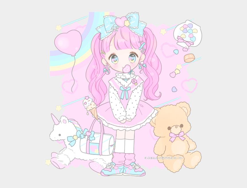 pastel color rainbow clipart, Cartoons - افتار يونيكورن