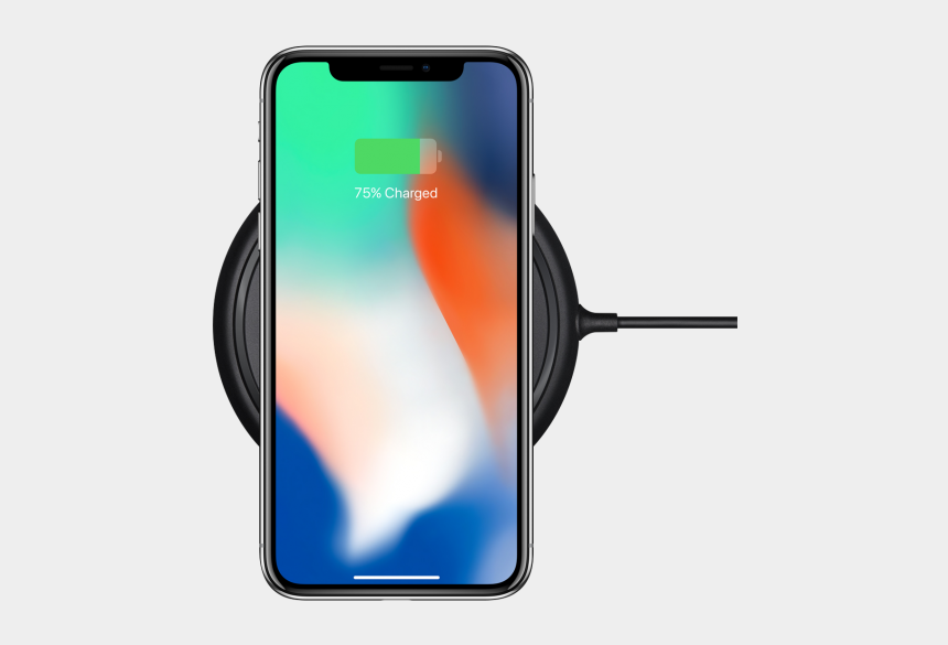 charger free clipart, Cartoons - Qi Wireless Charger Iphone X