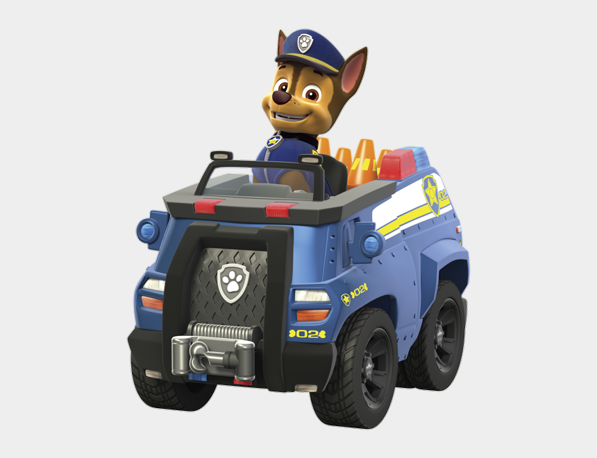 car chase clipart, Cartoons - Paw Patrol Chase Police Truck