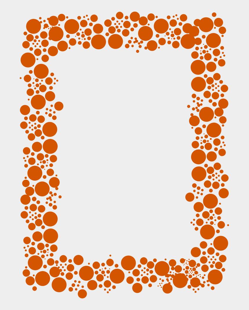 fractions clipart frame, Cartoons - Bordes De Color Naranja