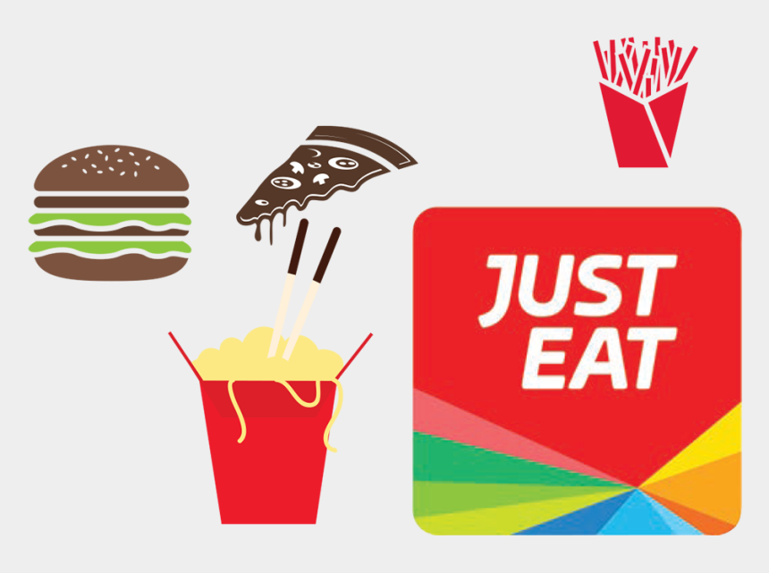 what do you want to eat clipart, Cartoons - Just Eat App Logo