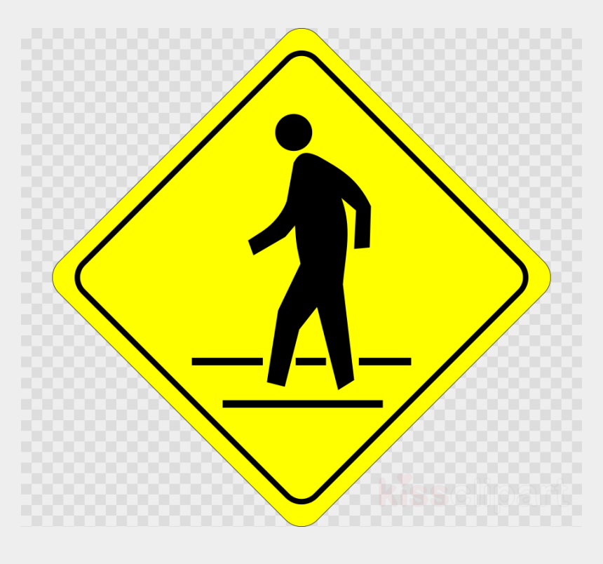 railroad signs clip art, Cartoons - Cross The Street Sign