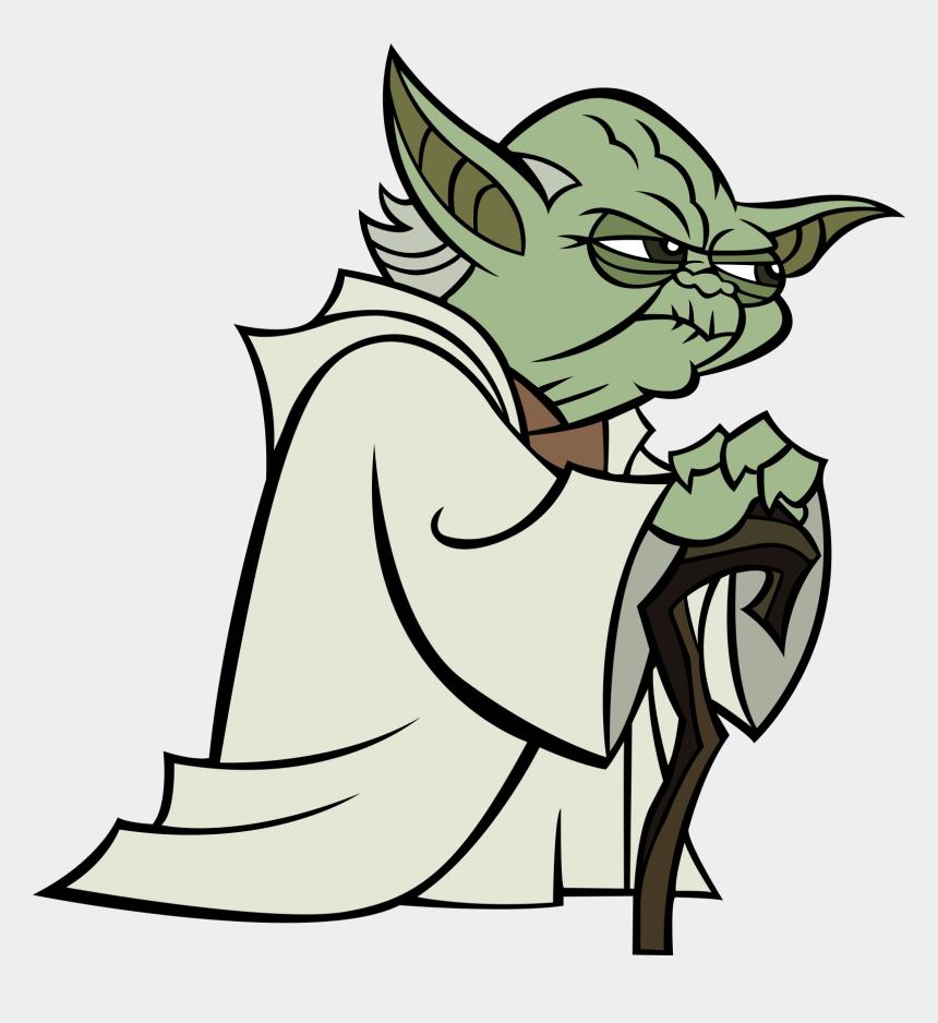 star wars chewbacca clipart, Cartoons - Yoda Clone Wars 2003