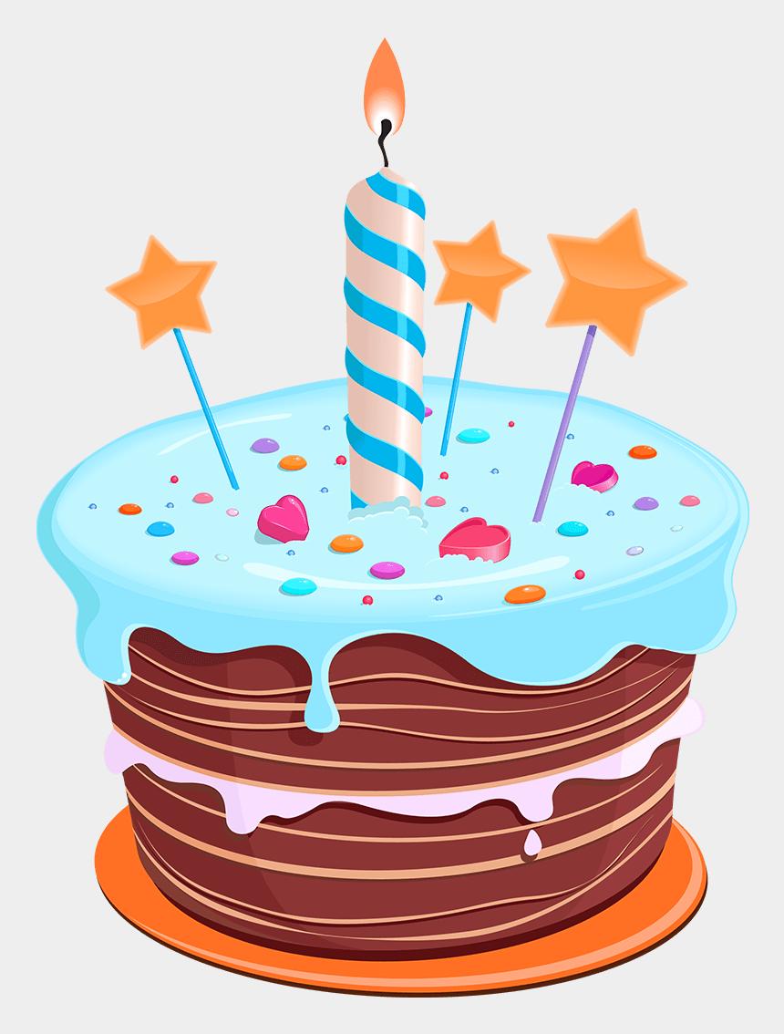happy birthday hippie clipart, Cartoons - Cartoon Birthday Cake Png