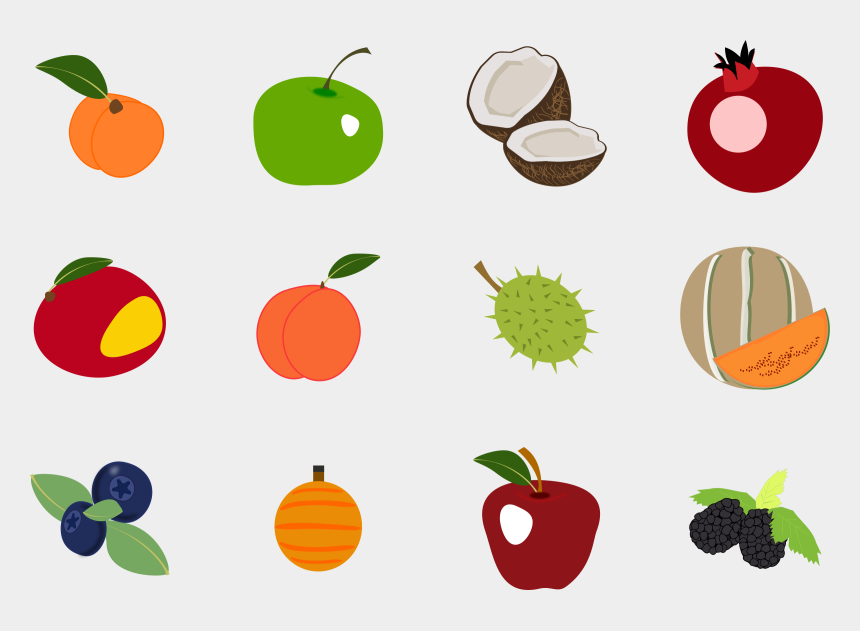 fruit of the spirit clip art free, Cartoons - Fruit Icons Clip Art