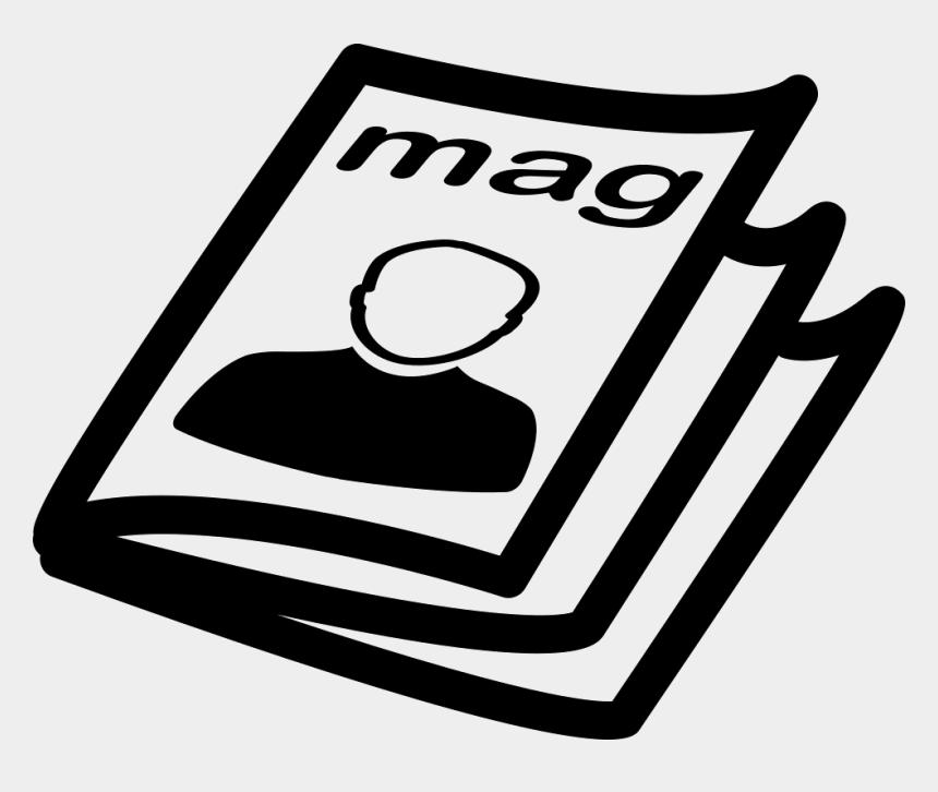 stack of magazines clip art free, Cartoons - Magazine Icon