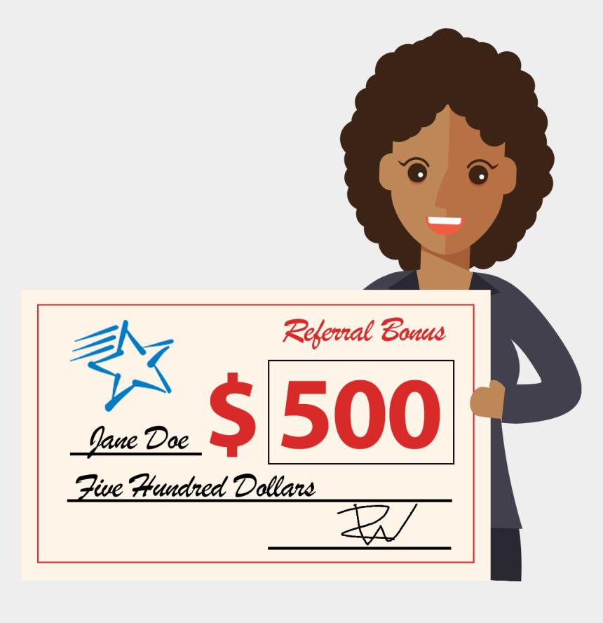 referral bonus clip art, Cartoons - Employee Referral Program Clipart