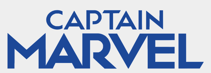marvel clipart svg, Cartoons - Captain Marvel Logo Png