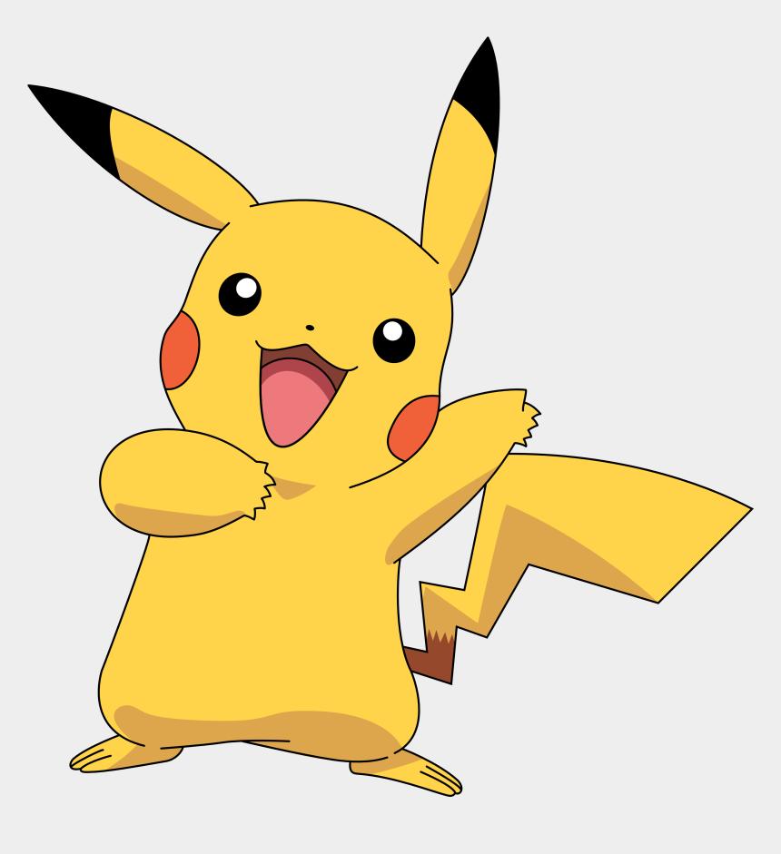 pikachu face clip art, Cartoons - Pokemon Pikachu
