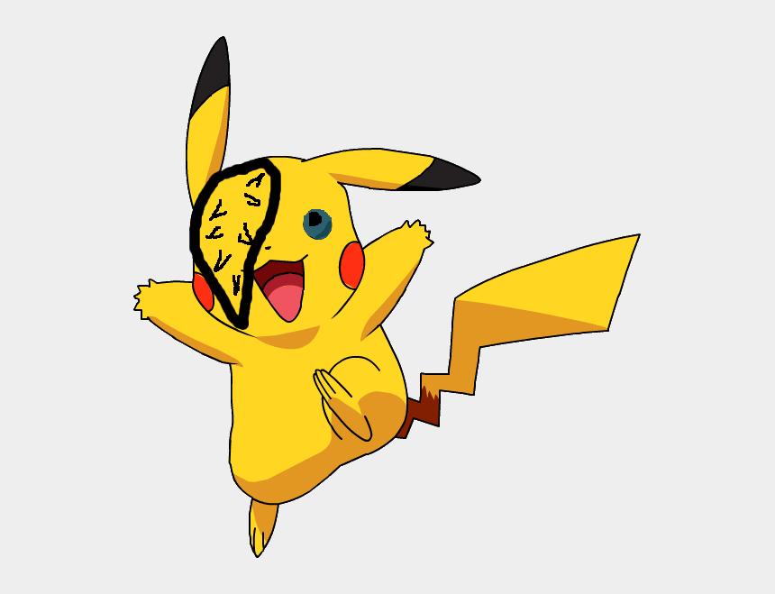 pikachu face clip art, Cartoons - Pikachu Pokemon