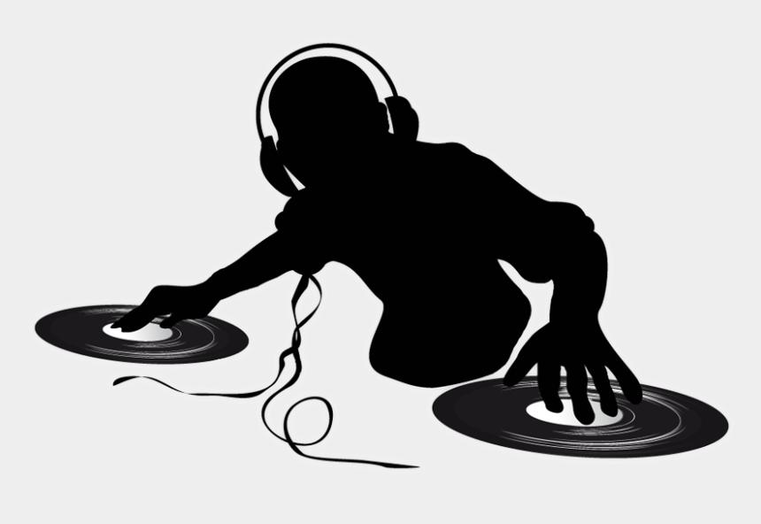 clip dj descargar musica gratis, Cartoons - Dj Png Clipart - Vector Dj Silhouette
