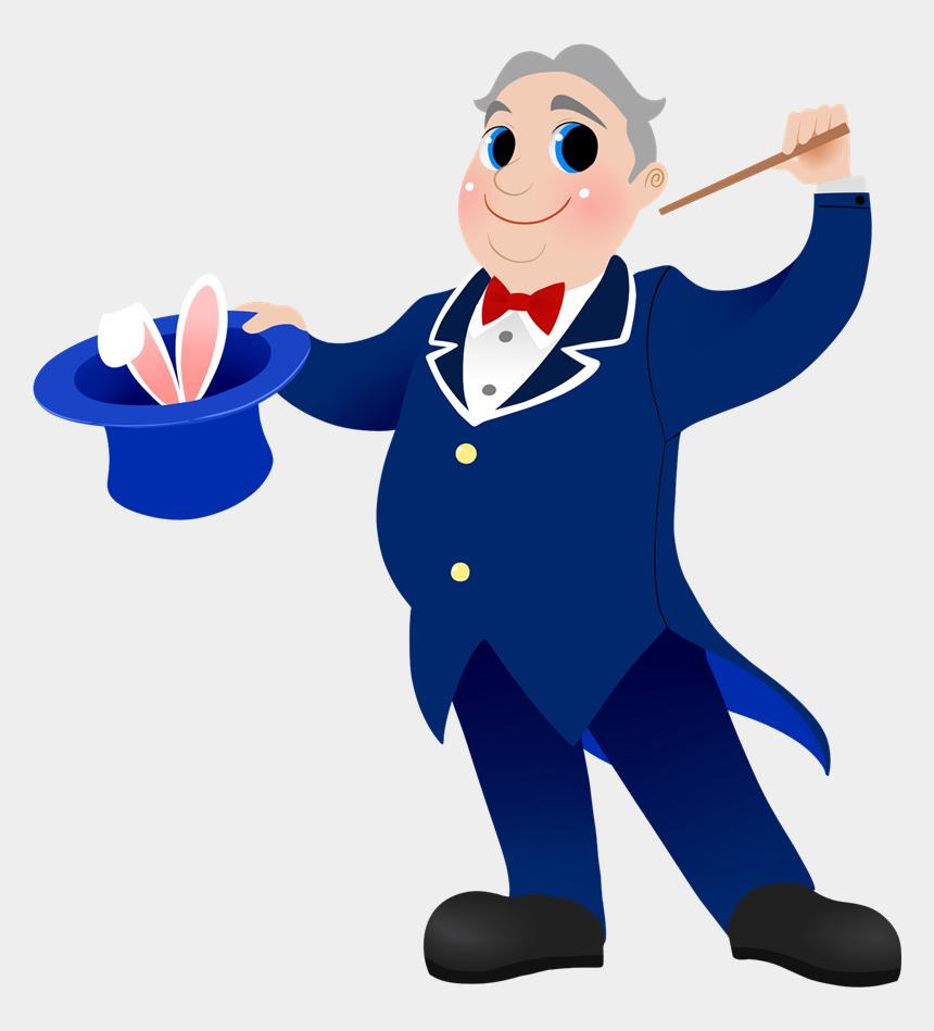 public domain clipart, Cartoons - Public Domain Vocabulary Clipart - Magician Clip Art