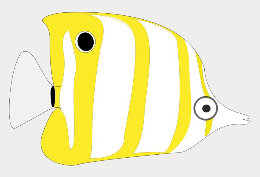 public domain clipart, Cartoons - Fish Clip Art Public Domain - Peixe Amarelo Desenho Png