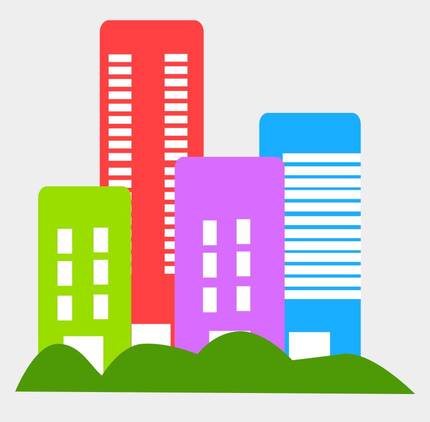 business clip art, Cartoons - Buildings Free Stock - Building Clipart