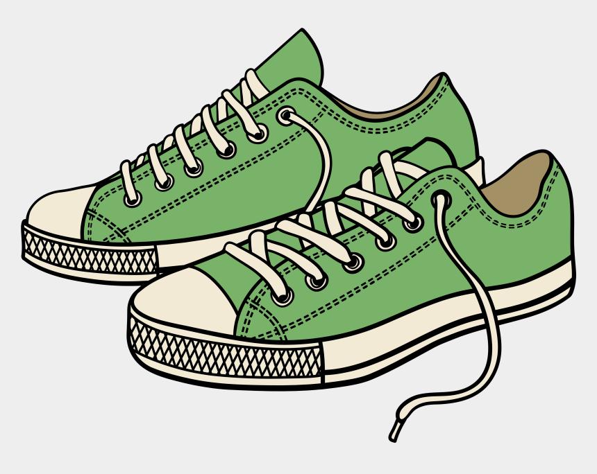 ballet shoes clip art, Cartoons - Green Sneakers Png Clipart - Cartoon Shoes Clip Art