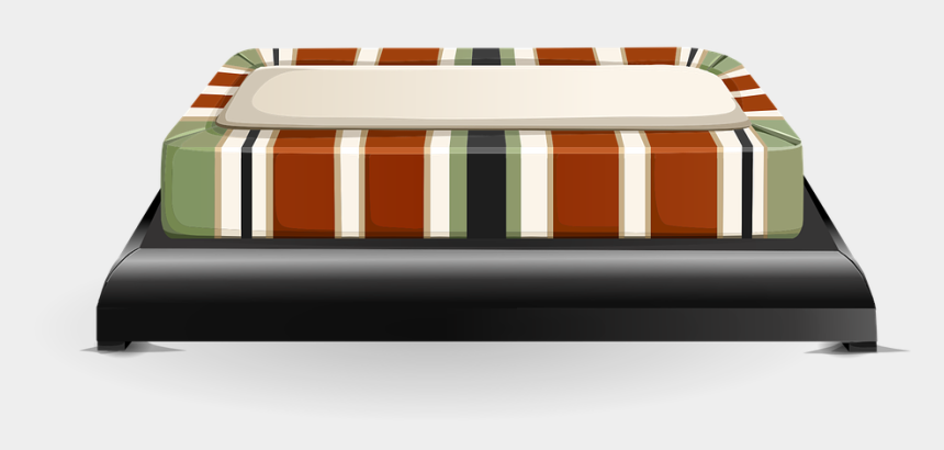 sofa clipart, Cartoons - Bed Couch Free Vector - Studio Couch