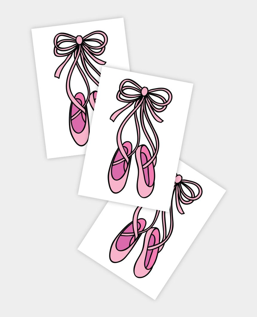 ballet shoes clip art, Cartoons - Pointe - Tt320 - Ballet