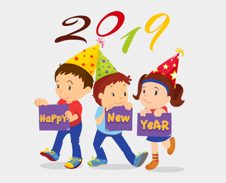 dreidel clipart, Cartoons - Happy New Year Clipart 2019 For Download Free - Clipart Happy New Year 2019
