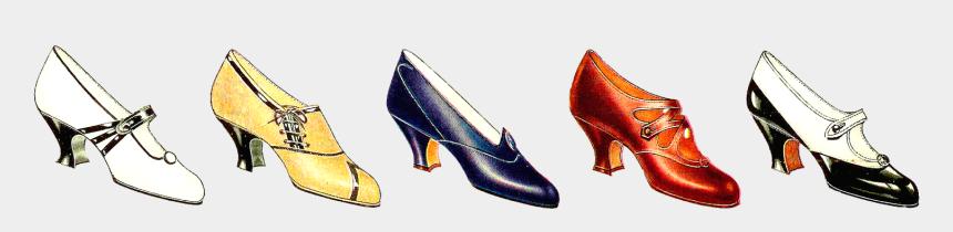 ballet shoes clip art, Cartoons - Free Fashion Clip Art - Border Shoes