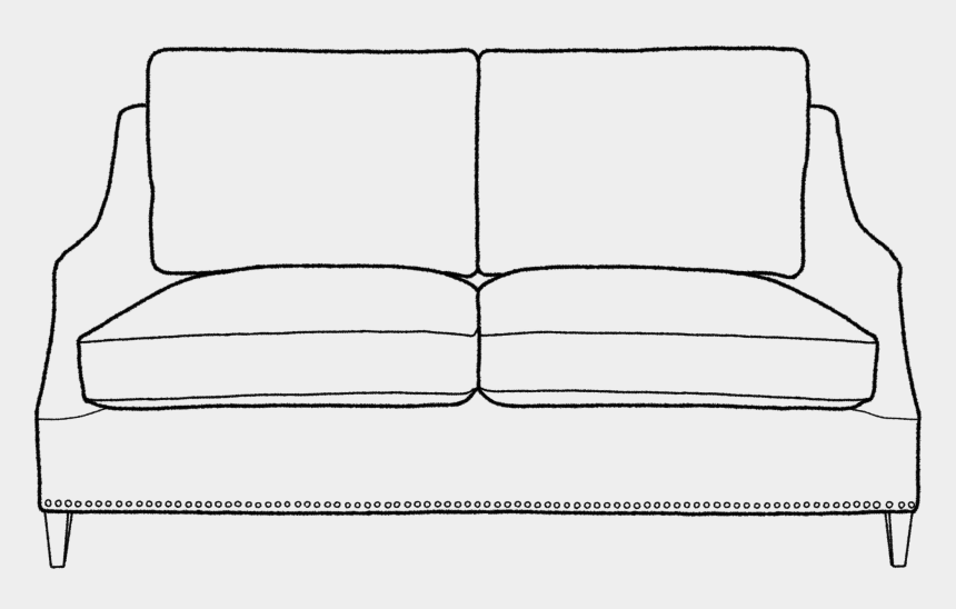sofa clipart, Cartoons - Eva Sofa, Medium - Couch