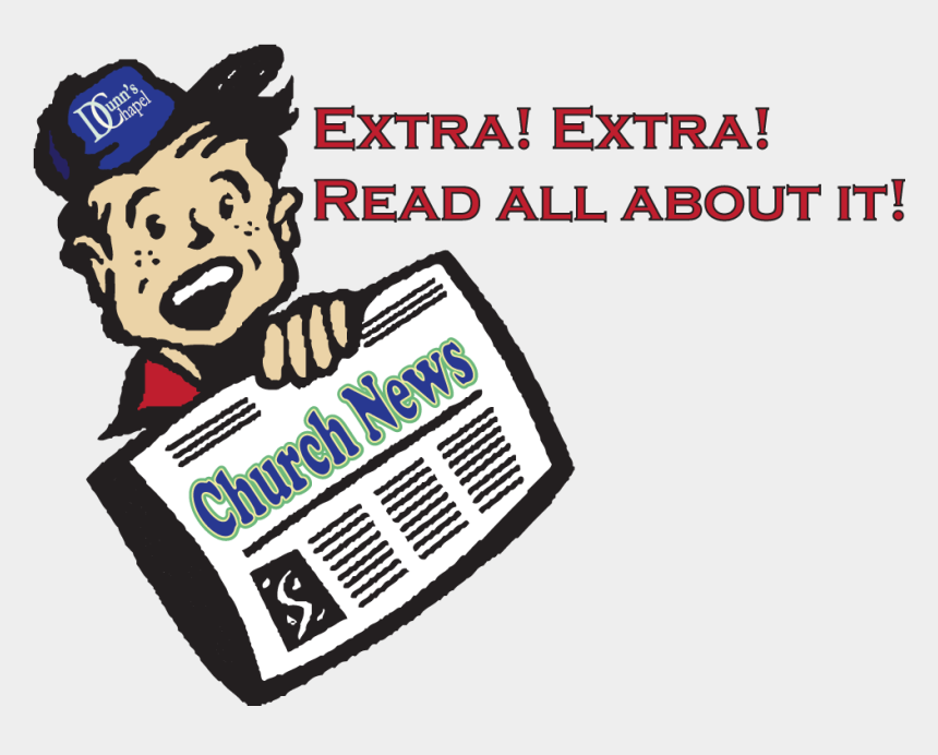 awana clipart, Cartoons - News Corner - Extra Extra Read All About It Clipart