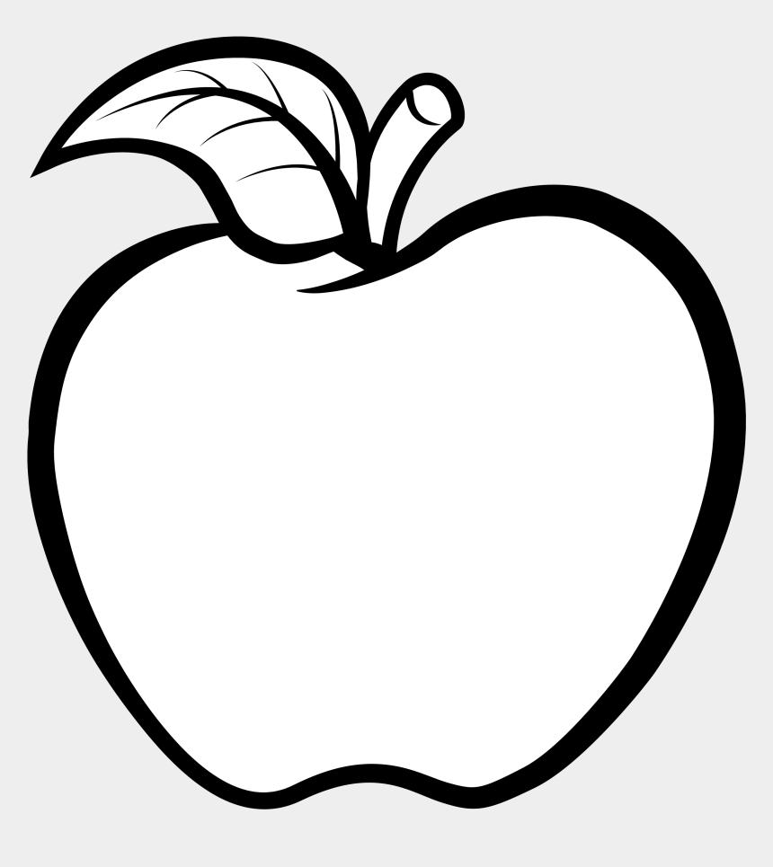 line clip art, Cartoons - Clip Art - White Apple Clipart Png