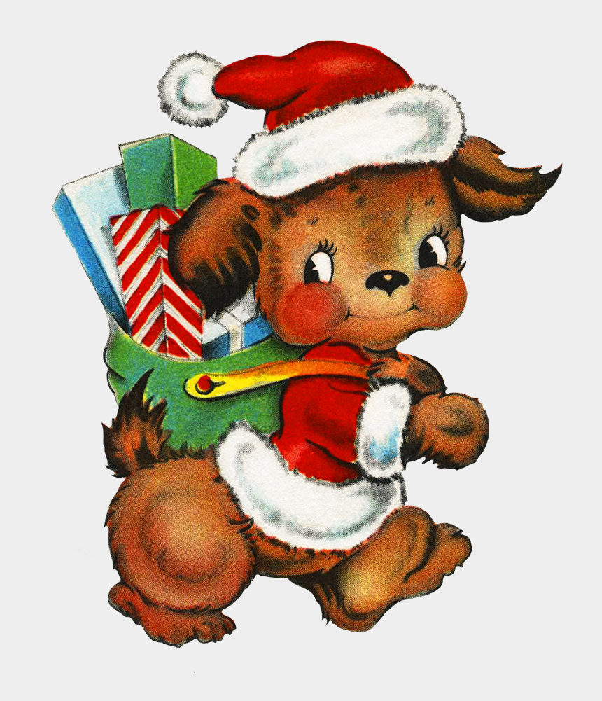 where the wild things are clip art, Cartoons - Wonderful And Charming Old Clip Art Of Snow Men, Santa - Graphics Christmas Dogs