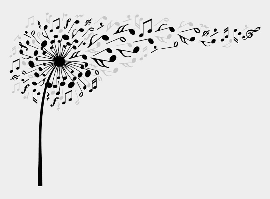 dandelion clip art, Cartoons - #musicnotes #scmusicalnotes #musicalnotes #dandelion - Dandelion Music Notes Png