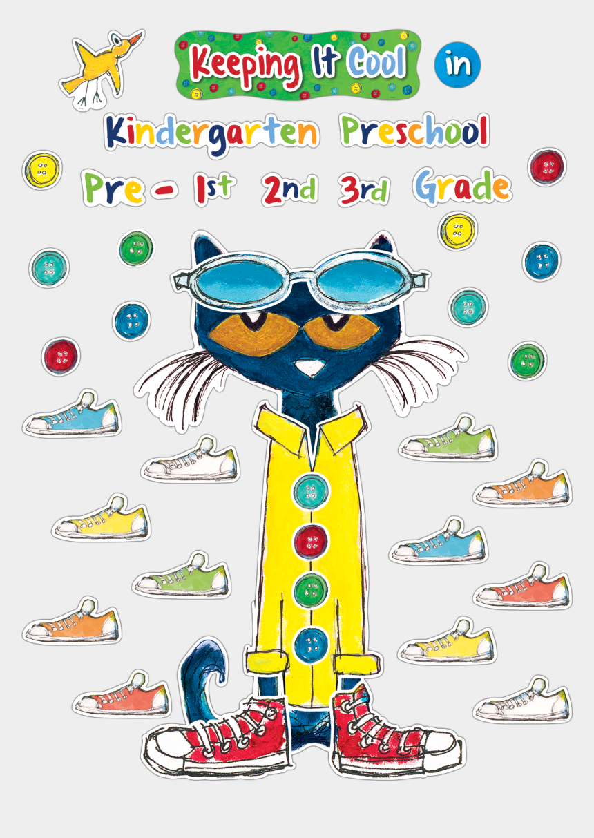 "pete the cat clipart, Cartoons - ""this Giant Pete The Cat Adjustable Bulletin Board - Pete The Cat Coat"