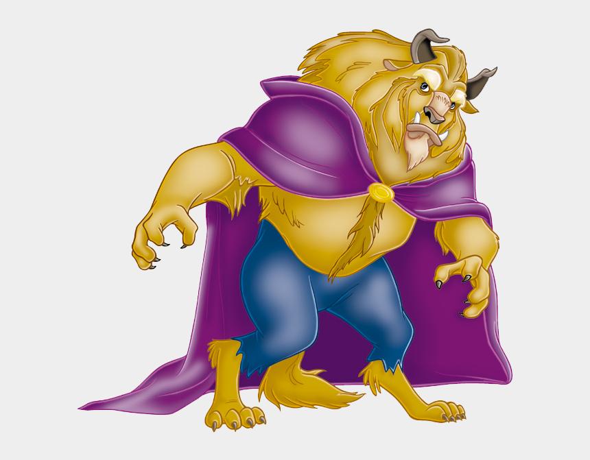 beauty and the beast clipart, Cartoons - Beauty And The Beast - Beast Disney